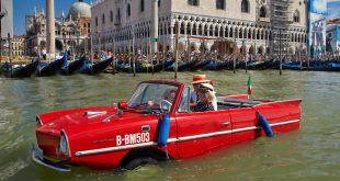 На автомобиле по Венеции