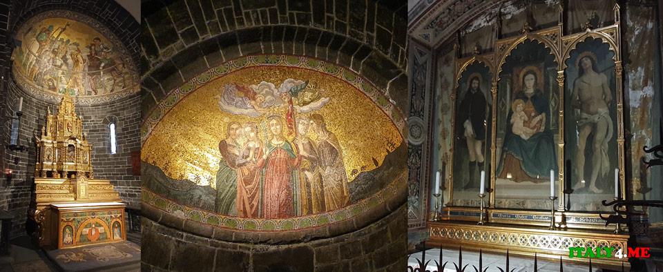 Базилика святого Джакомо в городе Белладжо XI века