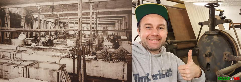 История производства шёлка на озере Комо