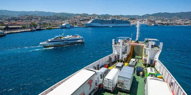 Паром на Сицилию: в Мессину из Вилла-Сан-Джованни