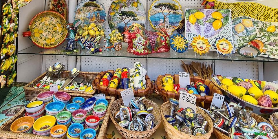 сувениры Амальфитанского побережья
