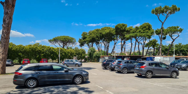 Парковка в Помпеи