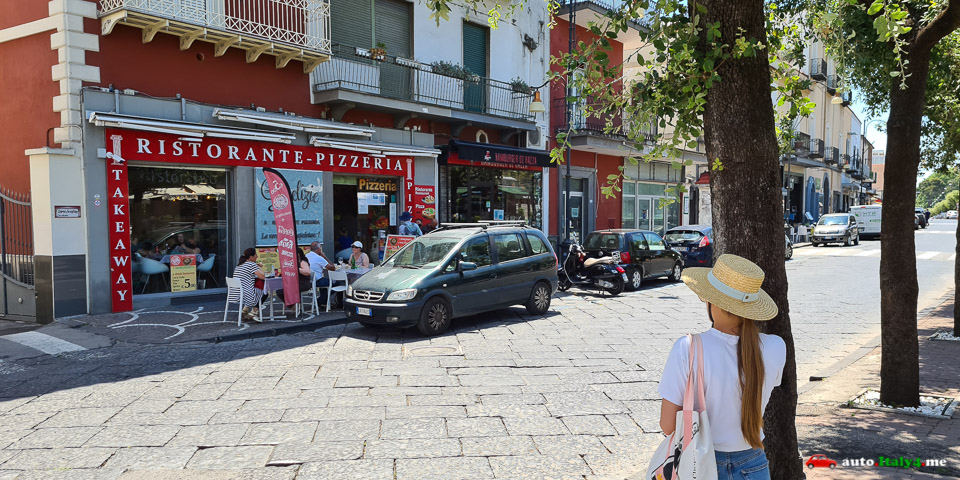 ресторан Le Delizie в Помпеях